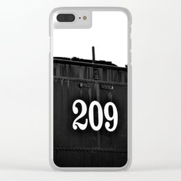 No 209 Spotlight Clear iPhone Case