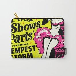 Peep Show Paris Carry-All Pouch