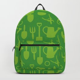 Green Garden Tools Backpack