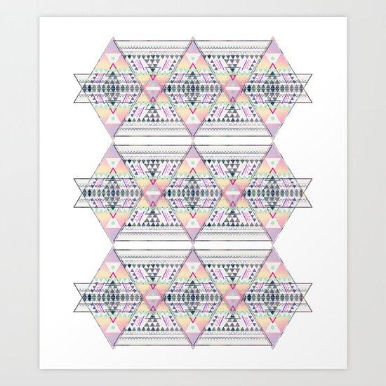 Aztec 2 Art Print