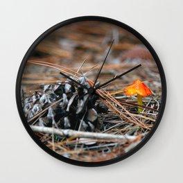Hammock Hills Mushroom 2014 Wall Clock