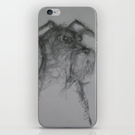 Schnauzer iPhone Skin