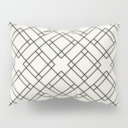 Simply Mod Diamond Black and Cream Pillow Sham