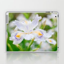 Fringed iris Laptop & iPad Skin