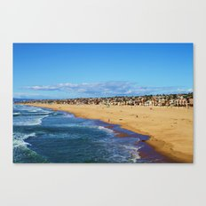 Little Boxes on the Hillside Canvas Print