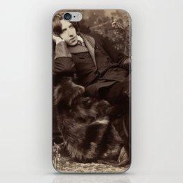 Oscar Wilde Lounging Portrait iPhone Skin