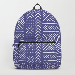 Line Mud Cloth // Iris Backpack