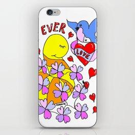 """2 14 4Ever"" iPhone Skin"