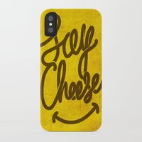 cheese iPhone & iPod Cases featuring Cheese ! by Didier Gérardin
