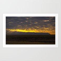 Eyjafjallajökull Sunrise Iceland 2 Art Print