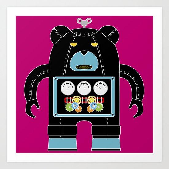Robot DB-3000 Art Print