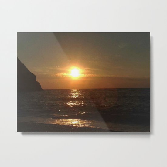 Italian Sunset 2 Metal Print