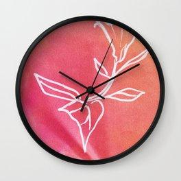 Floral No.22 Wall Clock