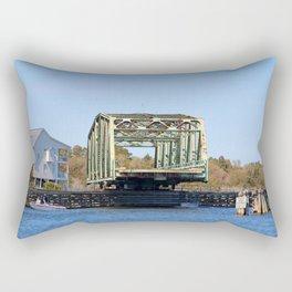 Swing Bridge Opening Rectangular Pillow