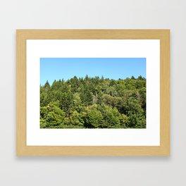 fundy bay 35mm film Framed Art Print