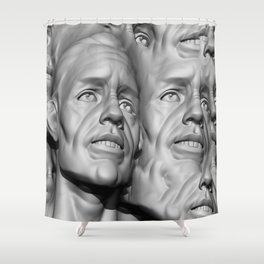 Face Of A Nation Shower Curtain