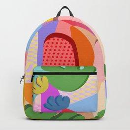 Summer Side Backpack