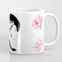 helen green Mugs featuring Helen by youdesignme
