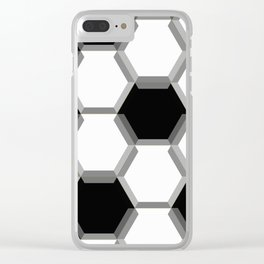 soccer ball Clear iPhone Case