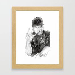 Mean Muggin' Framed Art Print