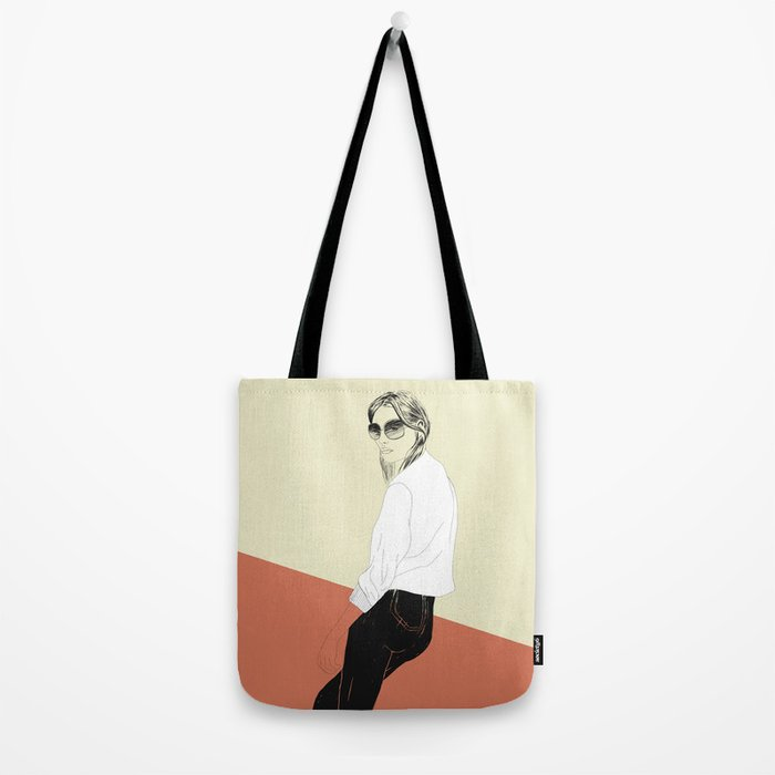 Woman Color 16 Tote Bag
