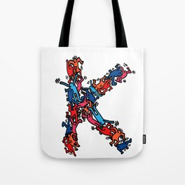 K is for Keith Tote Bag