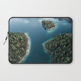 Lakeside Views at Sunset - Landscape Photography Laptop Sleeve