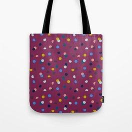 Purple Confetti Spot Tote Bag