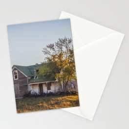 Abandoned Farmstead, North Dakota 3 Stationery Cards