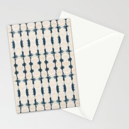 Shibori Movement in Indigo Stationery Cards
