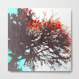 """Tree Blossoms"" Metal Print"