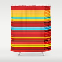 ironman Shower Curtains featuring Ironman by Jordan Creative