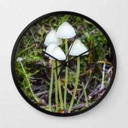 White Caps Wall Clock