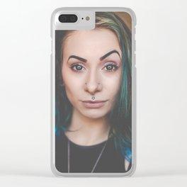 Lessanah Clear iPhone Case