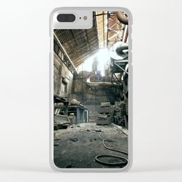 old abandoned place Clear iPhone Case