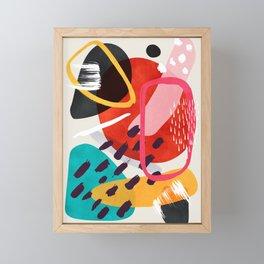 Mikah Framed Mini Art Print