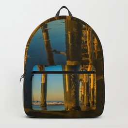 Mirror Under the Pier Backpack