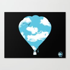 sky balloon Canvas Print