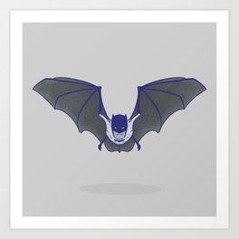 Halfsies: Bat Art Print