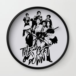 get down on it Wall Clock