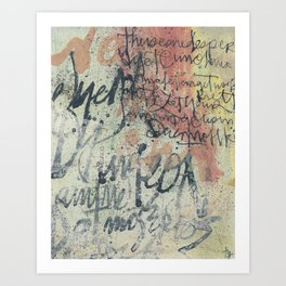 Decimator - 2 Art Print