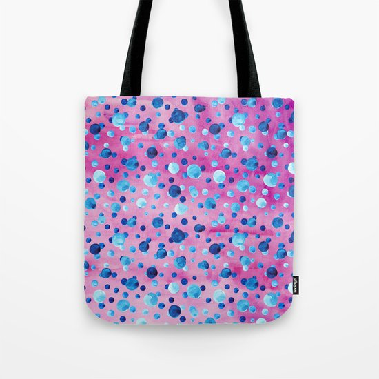 Polka Dot Pattern 06 Tote Bag