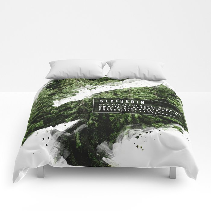 Slytherin Nature Comforters