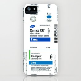 Drug Labels iPhone Case