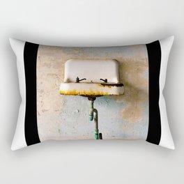 Rusted Sink Rectangular Pillow