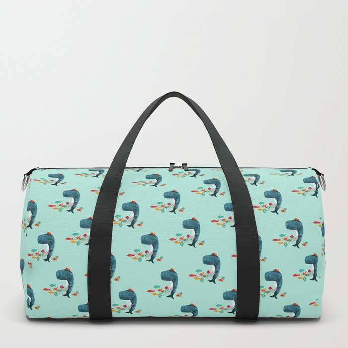 My Pet Fish Duffle Bag
