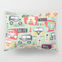 Travel Back in Time Pillow Sham
