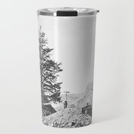 Andrew J. Russell - Thousand Mile Tree, Wilhelmina's Pass (1869) Travel Mug