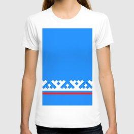 flag of Yamalo-Nenets Okrug Or Yanao T-shirt
