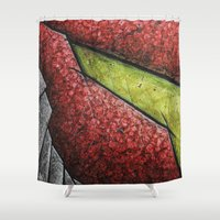 samus Shower Curtains featuring Samus by chris panila